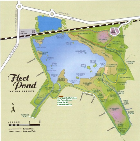 fleet-pond-map