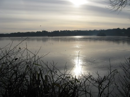 fleet-pond-iced-over