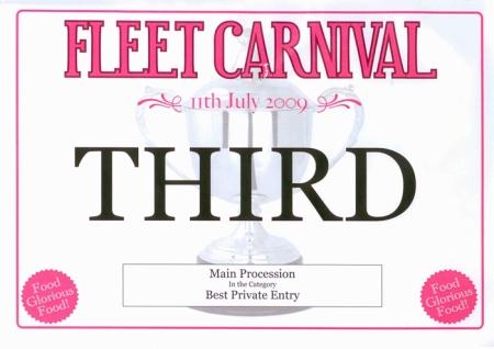 Fleet Carnival 3rd Place