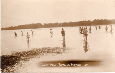 bathers at pond small