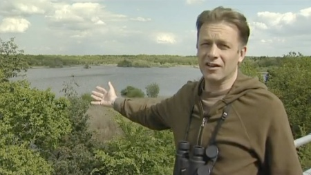 Chris Packham at Fleet Pond