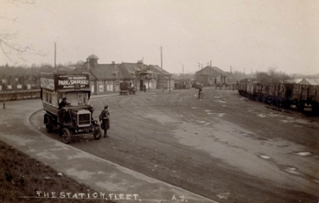 Fleet Station c 1922
