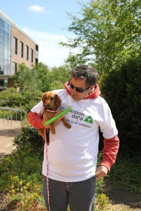 Rob Johnson & dog