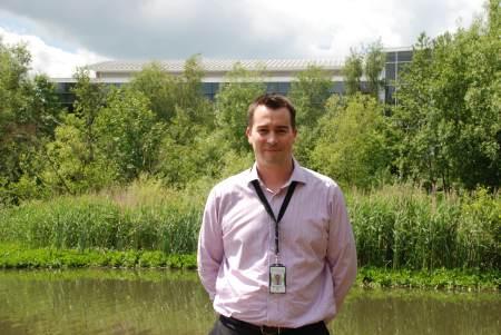 Mike Ollington at Fleet Pond