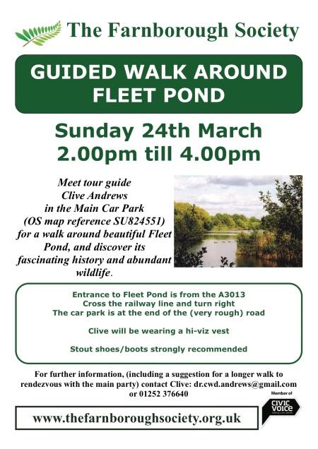 Fleet Pond Walk 24 March 2013