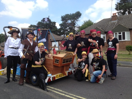 Carnival 2013 - Crew and the Black Swan