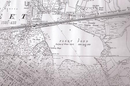 A1909 Map detail