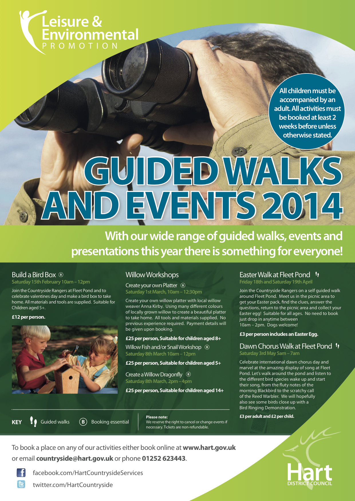 2014 Guided Walks Poster HartDC