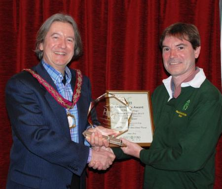 Phill Gower Volunteer of the Year 2013