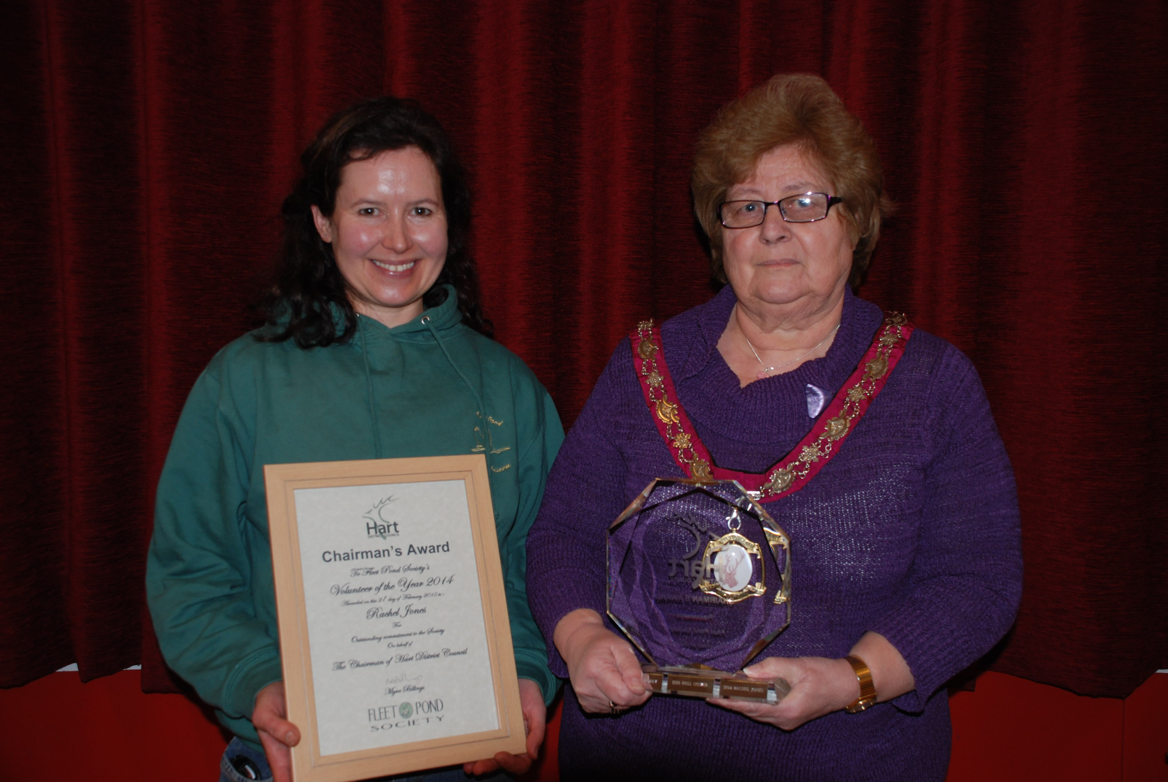 Volunteer of the Year Award 2015