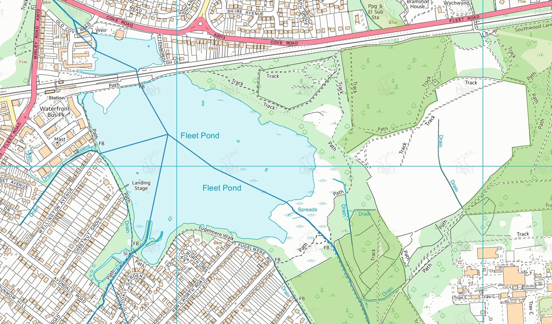 Hart Map Fleet Pond 2