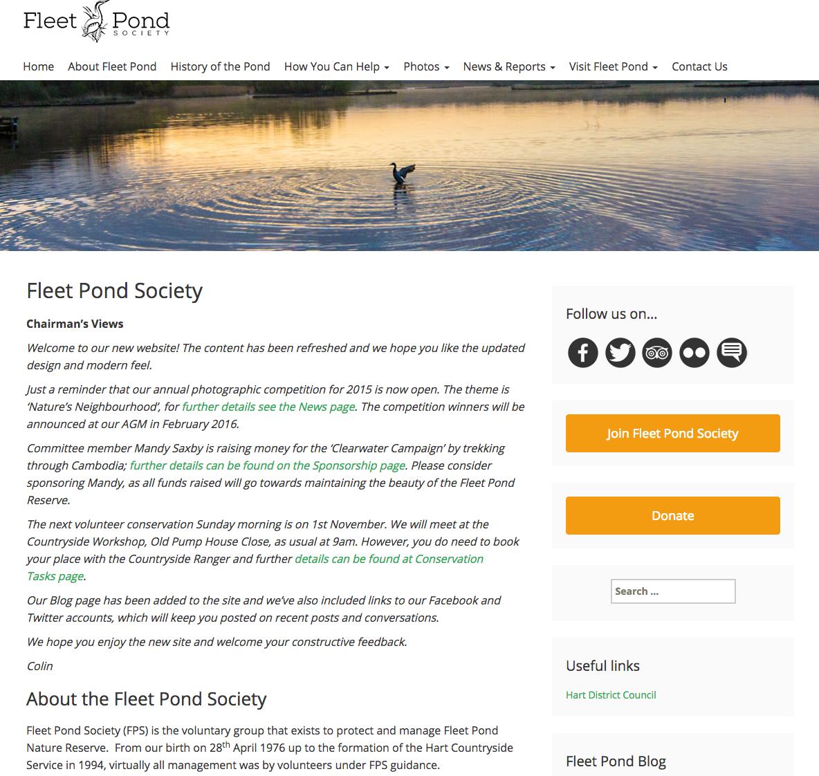 FPS Web Site 2015