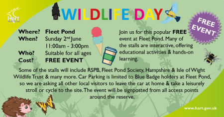 Wildlife Day for Stall Holders etc FB & Twitter